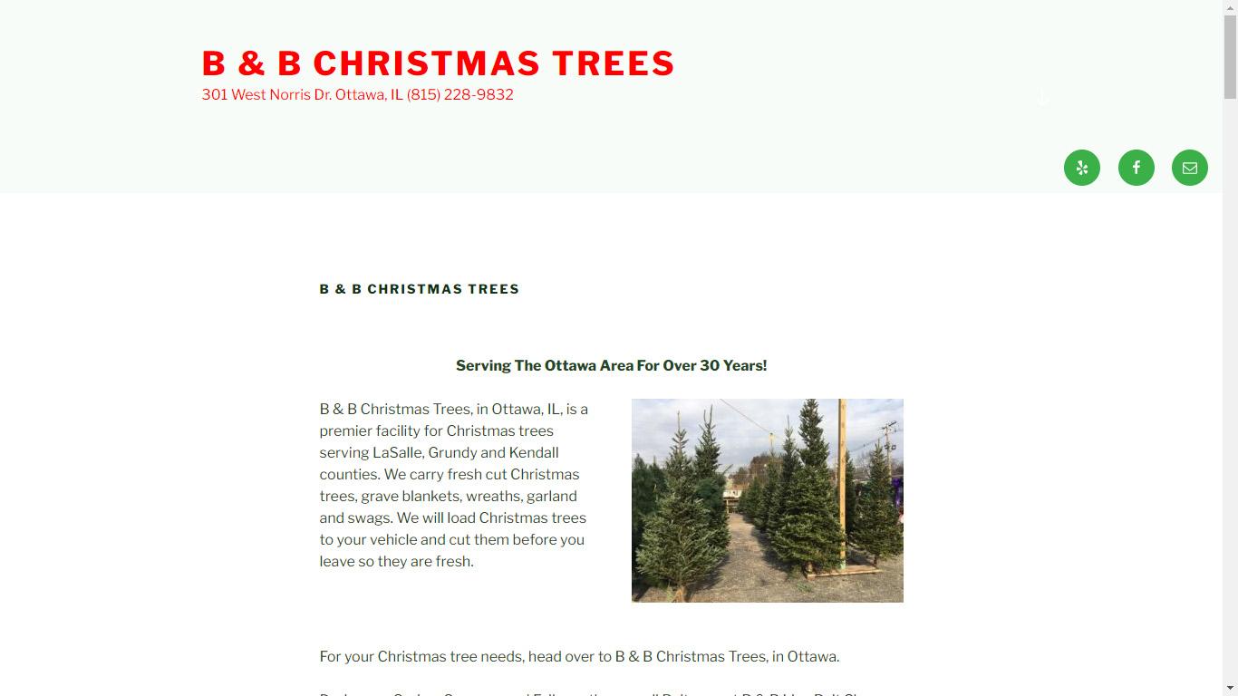 B & B Christmas Trees